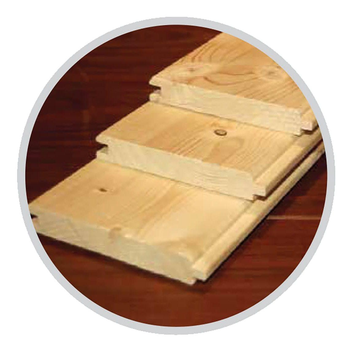 Fußboden- und Dachbretter 18 mm