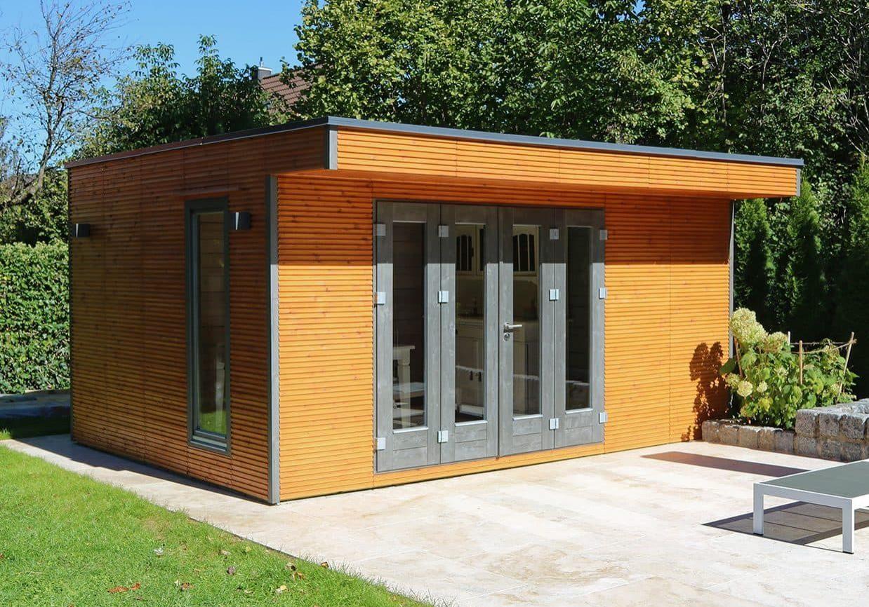 Gartenhaus Vordach